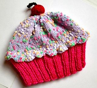 Ravelry Cupcake Hat Pattern By Vicki Mann