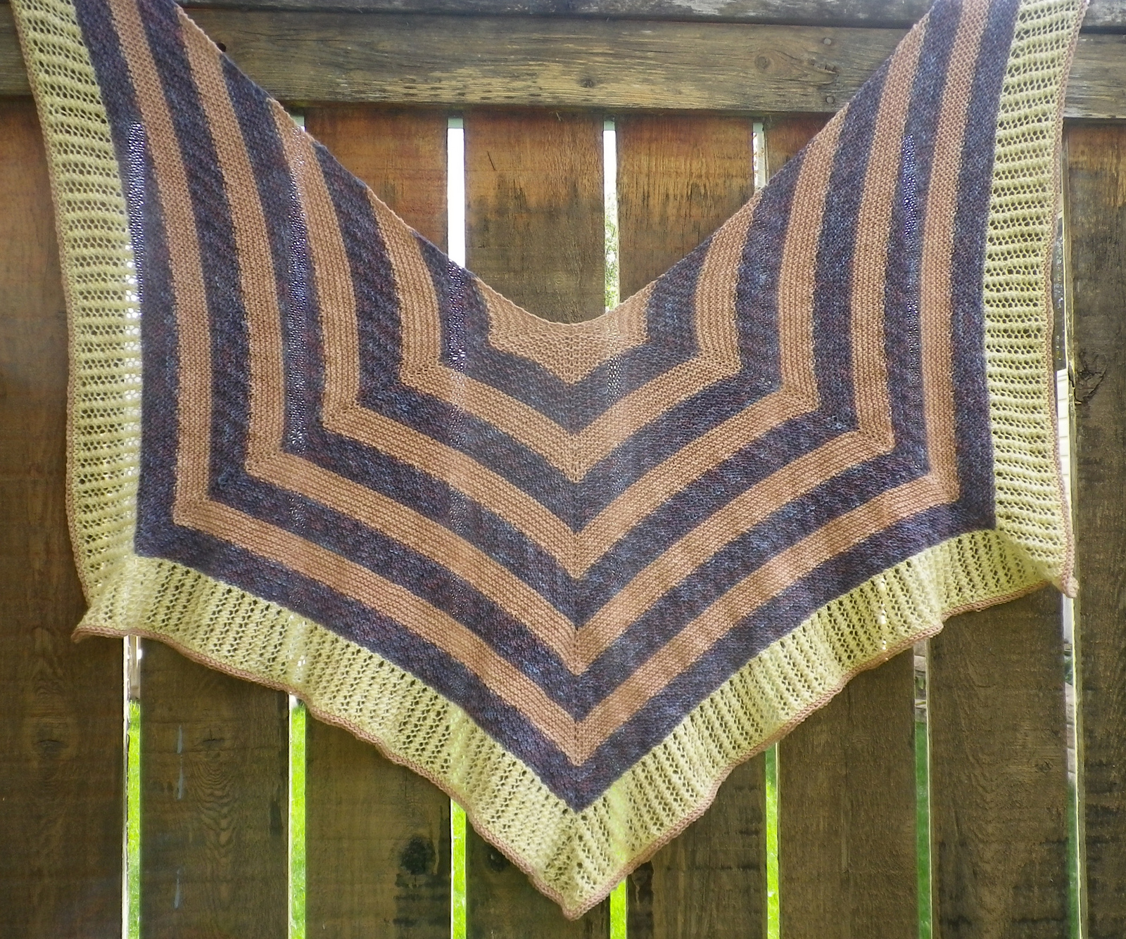 Rafu-Sen Shawl by Susan Elizabeth of CrescentMoonCollective.com
