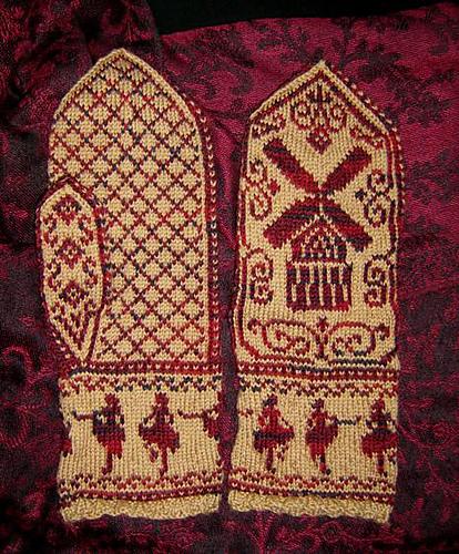 NobleKnits Knitting Blog: Fair Isle Mystery Hat - Part I