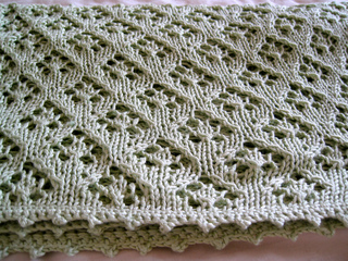 Ravelry Elven Pixie Baby Blanket Pattern By Tall Gal Knits