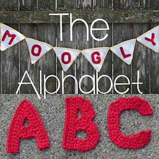 Free Crochet Pattern Alphabet Letters : Ravelry: The Moogly Crochet Alphabet pattern by Tamara Kelly