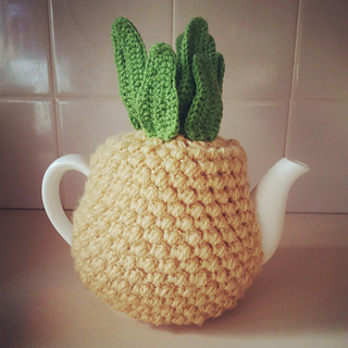 Ravelry: Pineapple Tea Cosy pattern by Tea and Craft