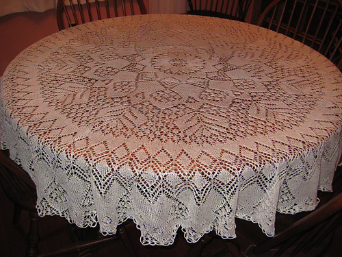 Free Knitting Pattern Lace Doily : Wilfrid the Geek Knit Run, Purl Run