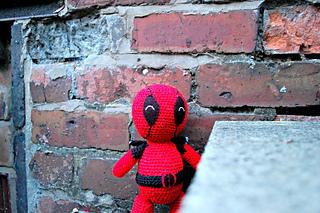 Amigurumi Crochet Dress Pattern : Ravelry: Deadpool Amigurumi pattern by Jenny Riley