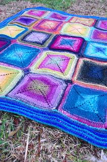 Ravelry: Mystery Blanket: Weaving (April) pattern by Elizabeth Zimmermann