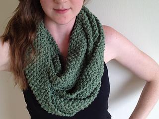 Infinity Scarf Knitting Pattern Seed Stitch : Ravelry: Seed Stitch Infinity Scarf pattern by Michelle Czyzo