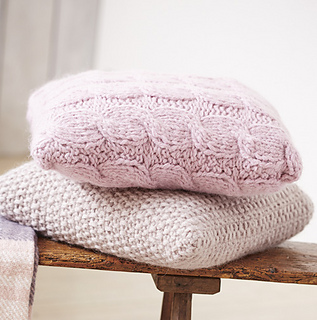 Woman s Weekly Knitting Patterns : Ravelry: Cable Cushion pattern by Womans Weekly