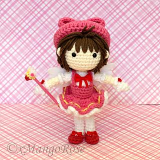 Ravelry: Cardcaptor Sakura Amigurumi Doll pattern by Wendy ...
